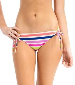 Bikini Lab Women's Striped Adjustable Hipster Bottom