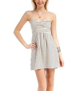 Roxy Bustin Out Strapless Dress