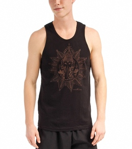 Om Shanti Clothing Men's Henna Ganesh Jersey Tank