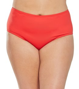 Sunsets Plus Size Black High Waist Bottom