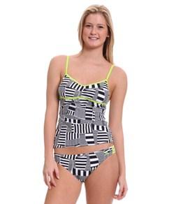 Adidas Women's Cut Stripe Bandini Top