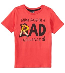 Volcom Boys' Rad Influence S/S Tee (4-7)