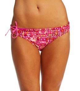 Reebok Fitness Lauren Pink Reversible Print Bottom