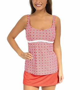 Beach House Panama Geo Underwire Tankini Top