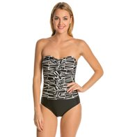 Ceeb Tribal Nights Bandeau One Piece Swimsuit