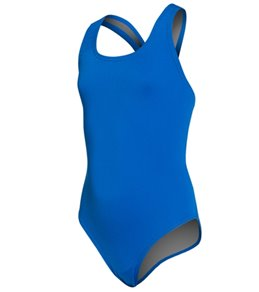 Speedo Solid Endurance Super Proback Youth Swimsuit