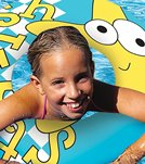 Poolmaster Aqua Fun 24 Print Swim Ring
