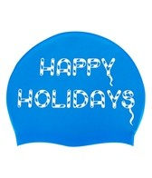 Sporti Holiday Cookies Silicone Swim Cap Jr.