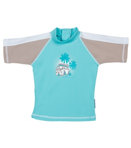 Sun Emporium Boys' Back Zip S/S Sun Shirt (6mos-3yrs)