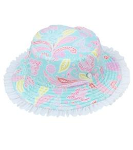 Sun Emporium Girls' Bucket Hat (6mos-8yrs)