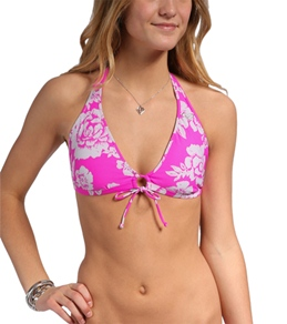 Roxy Beach Babe Angel Boost D Cup Halter Top