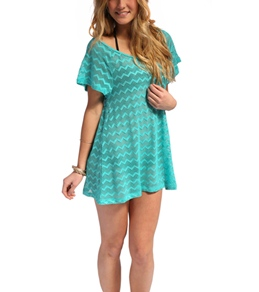 Roxy Free Love Off The Shoulder Dress