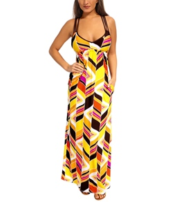 Trina Turk Carmel By The Sea Long Dress