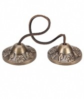 Sacred Space Small Auspicious Symbol Tibet Gong Tingsha Cymbals