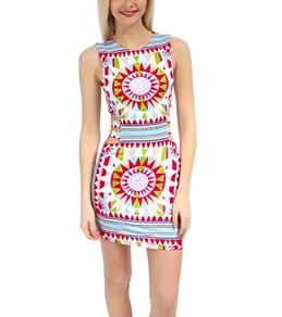 Mara Hoffman Shakti Modal Strappy Mini Dress