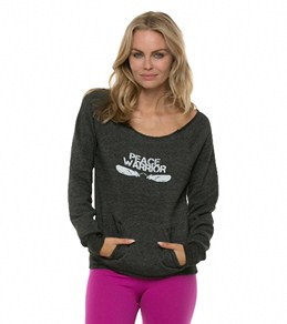 Be Love Women's Peace Warrior L/S Pullover