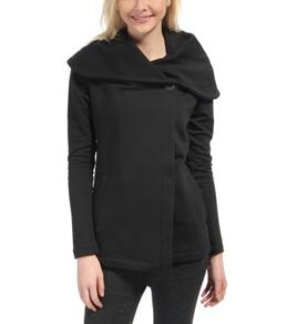 Beyond Yoga Shawl Collar Drape Front Jacket