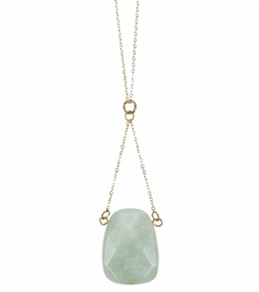 Flea Market Girl Amazonite Stone Necklace