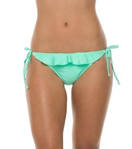 Bikini Lab I Saw The Shine Ruffle Tie Side Bottom