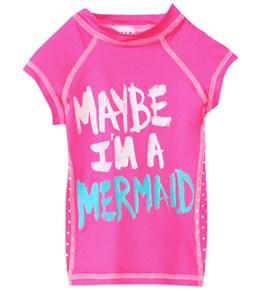 Billabong Girls' Mermaid S/S Rashguard (4-14)
