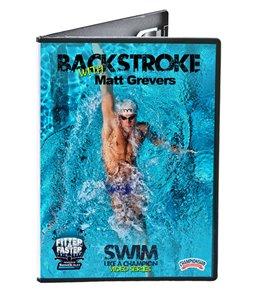 Swim Like a Champion - Backstroke DVD with Matt Grevers by the Fitter & Faster Swim Tour