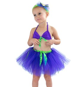 Shebop Girls' Sea Lily Tutu Mermaid Swim Set (2-10)