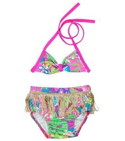 Shebop Girls' Hula Diaper Swim Set (12-30lbs)