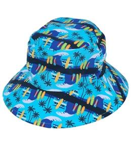 iPlay Boys' Aqua Surf Reversible Sun Protection Hat (6mos-4yrs)