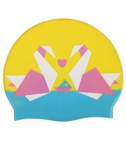Sporti Summer Love Silicone Swim Cap