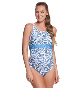 EQ Swimwear Versaille Banded Maternity One Piece