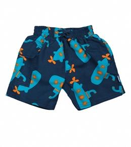 iPlay Boys' Navy Submarine Swim Diaper Pocket Trunks (6mos-4yrs)