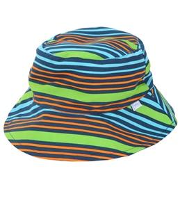 iPlay Boys' Navy Multistripe Reversible Sun Protection Hat (0mos-4yrs)