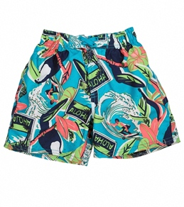 Sunshine Zone Boys' Marty Boardshort (2T-4T)