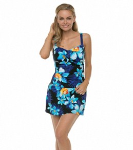 Jantzen Island Excursion The Skater Swim Dress