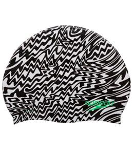 Speedo Pop Vibration Silicone Swim Cap