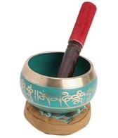 Sacred Space Green Cast Tibetan Singing Bowl 4.5