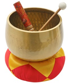 """Sacred Space MED A Third Eye Japanese Style Rin Gong Singing Bowl 7"""""""