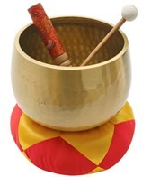 Sacred Space MED A Third Eye Japanese Style Rin Gong Singing Bowl 7