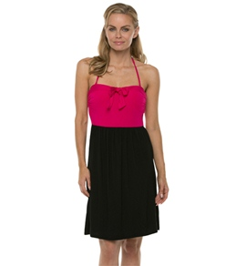 Kenneth Cole Reaction Luxury Solids Smocked Back Bandeau