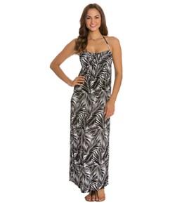 Kenneth Cole Reaction Negative Space Bandeau Maxi Dress