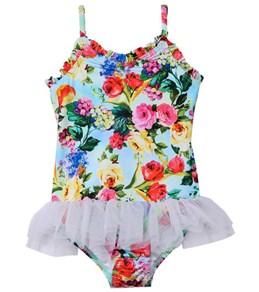 Seafolly Girls Summer Garden Ballerina Tutu One Piece (6mos-7yrs)