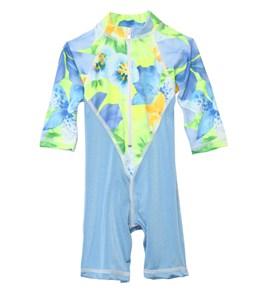 Tidepools Girls' Hanalei Sunrise UV Suit (6-24mos)