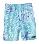 Tidepools Boys' Bali Beach Long Trunks (2-14)