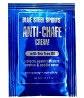 Blue Steel Sports Anti-Chafe Cream (6-Pack Singles)