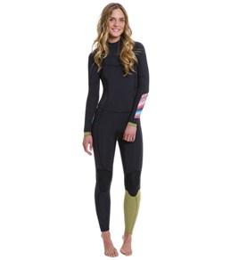 Billabong Women's 4/3MM Salty Dayz EZ Chest Zip Fullsuit
