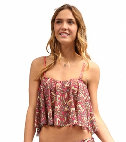 Maaji Sparkling Waves Flutter Cropkini Top