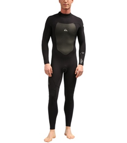 Quiksilver Men's 3/2MM Syncro Back Zip GBS Fullsuit