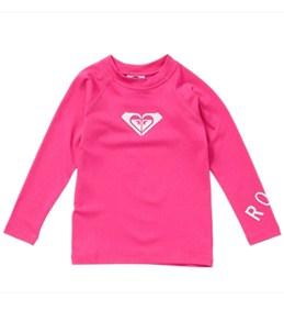 Roxy Girls' Whole Hearted Toddler L/S Rashguard