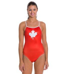 Splish Oh Canada Thin Strap One Piece