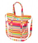 Roxy Sail Away Stripe Beach Tote
